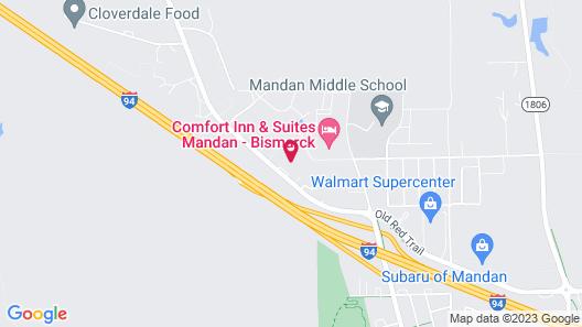 Blackstone Hotel Map