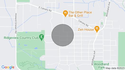 Glorious Getaway in Woodland Neighborhood Map