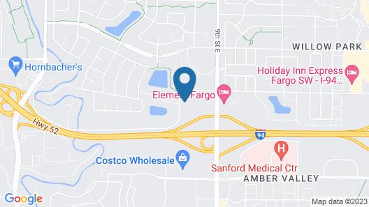 Homewood Suites by Hilton West Fargo Sanford Medical Center Map