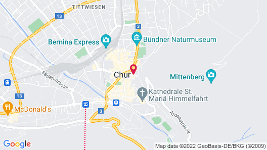 Hotel Drei Könige Map