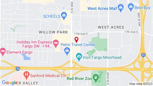 Best Western Plus Kelly Inn & Suites Map