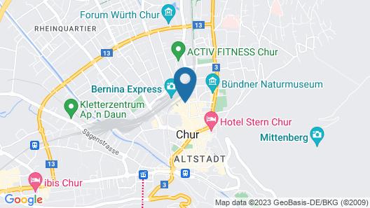 ABC Swiss Quality Hotel Map