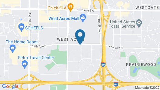Candlewood Suites Fargo South- Medical Center, an IHG Hotel Map