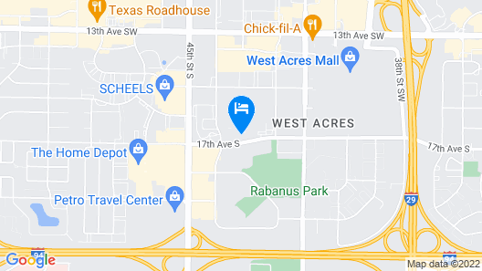 Home2 Suites by Hilton Fargo, ND Map