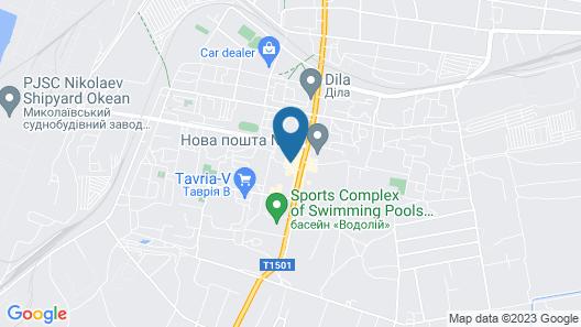 Hotel Metallurg - Hostel Map