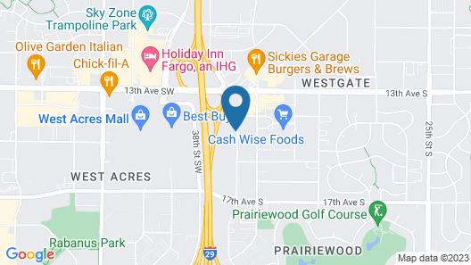 Quality Suites Near West Acres Map