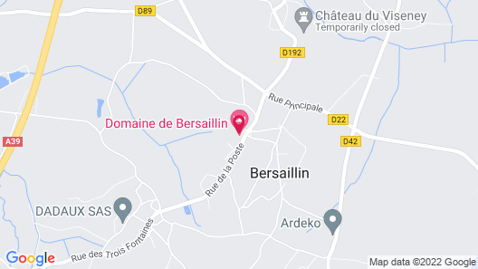 Domaine de Bersaillin Map