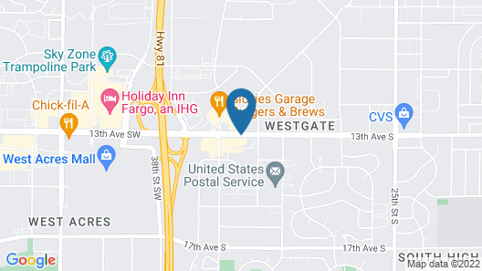 Country Inn & Suites by Radisson, Fargo, ND Map