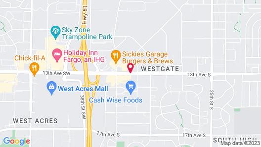 Ramada by Wyndham Fargo Map