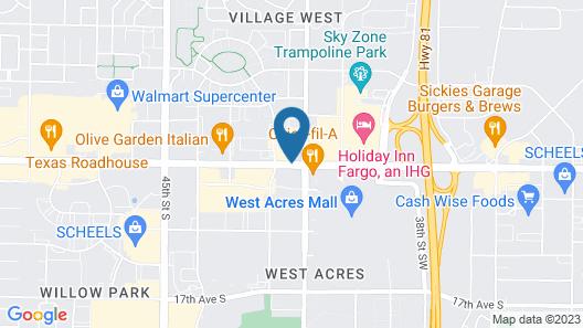 Kelly Inn Fargo North Dakota Map