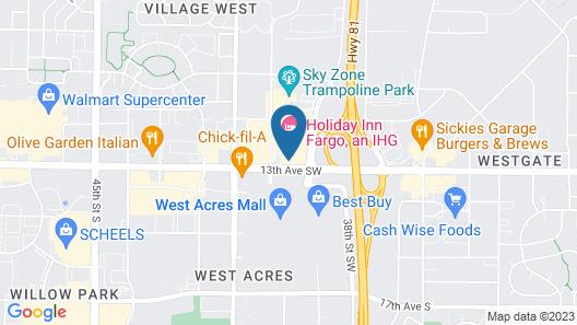 Holiday Inn Fargo, an IHG Hotel Map