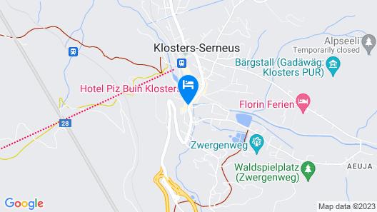 Silvretta Parkhotel Map