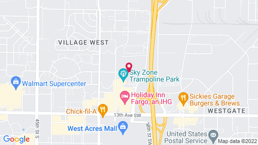 Fairfield Inn & Suites Fargo Map