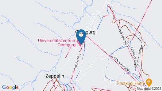 Apartmenthaus Gurglhof Map
