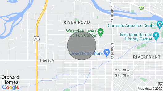 Rustic, Modern, and Cozy Condo Located in Central Missoula on the Milwaukee Path Bike Trail Map