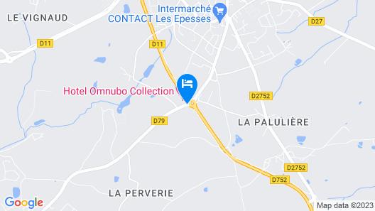 Best Western Hotel Omnubo Map