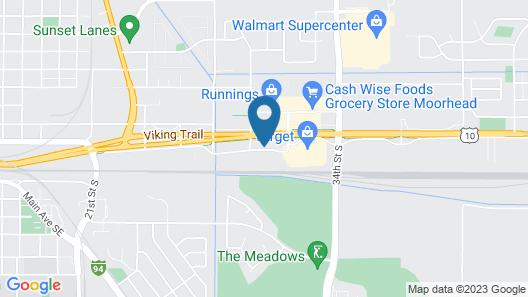 Travelodge & Suites by Wyndham Fargo/Moorhead Map