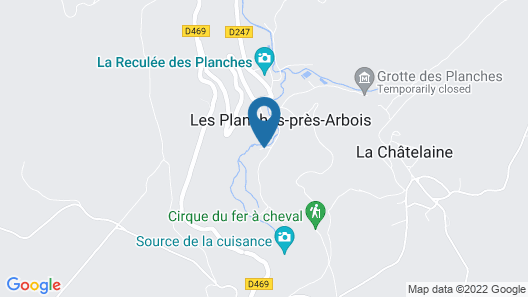 Castel Damandre Map