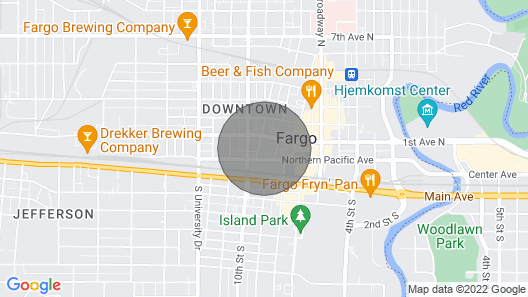 Downtown 4 Bed Flat Map