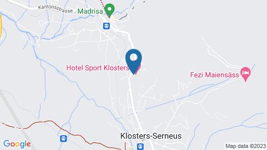 Hotel Sport Map