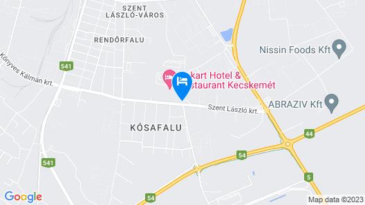 Gokart Hotel Map