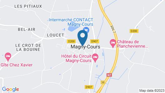 Hotel Le Paddock Map