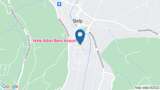 Hine Adon Apart Hotel Bern-Airport Map