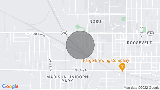 4 Bed Flat- Ndsu Area Map
