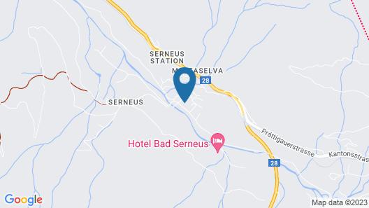 Hotel Bad Serneus Map