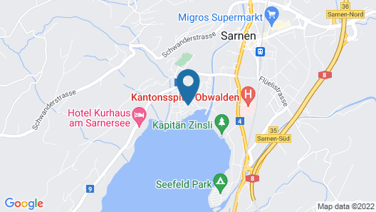 SarnenApartments Map