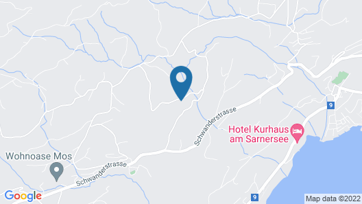 Relais du Silence Parkhotel Waldheim am Sarnersee Map