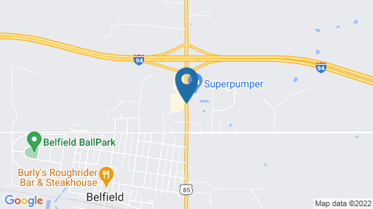 Trappers Inn Map