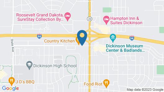 La Quinta Inn & Suites by Wyndham Dickinson Map