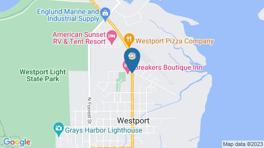 Breakers Boutique Inn Map