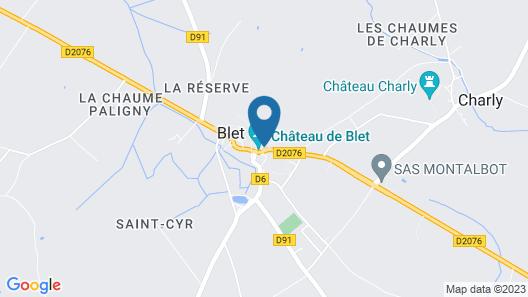 Château de Blet Map