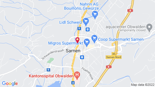 Hotel Krone Sarnen Map