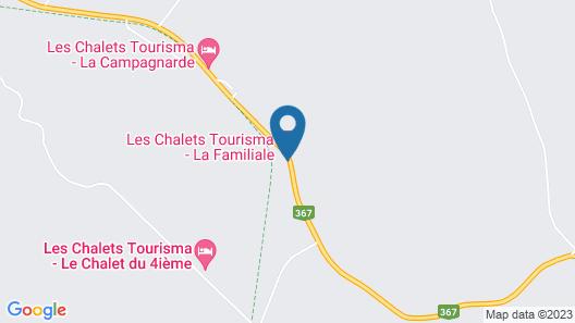 Maison Familiale - Les Chalets Tourisma Map