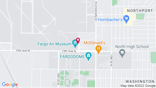 Homewood Suites by Hilton Fargo Map