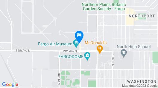 Homewood Suites by Hilton Fargo Map