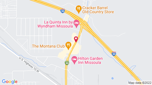 Super 8 by Wyndham Missoula/Reserve St. Map