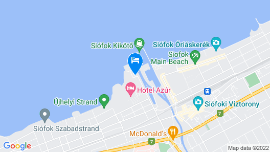 Hotel Yacht Wellness & Business Map