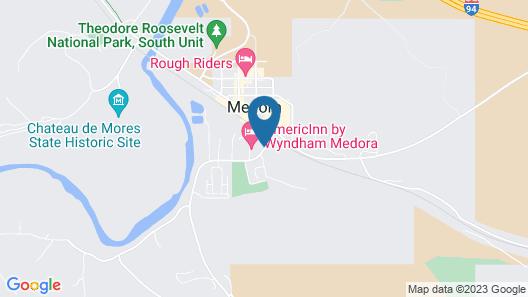 AmericInn by Wyndham Medora Map