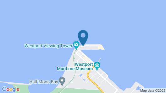 Westport Marina Cottages Map
