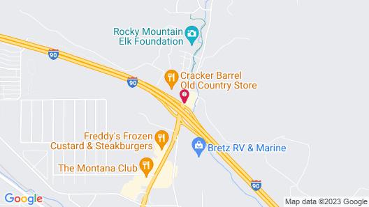Best Western Plus Grant Creek Inn Map