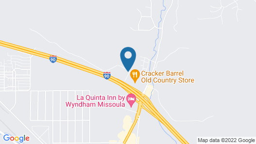 Motel 6 Missoula, MT Map