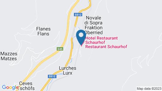 Hotel - Restaurant Schaurhof Map