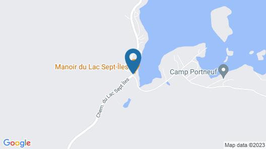 Manoir du Lac Sept-Îles Map