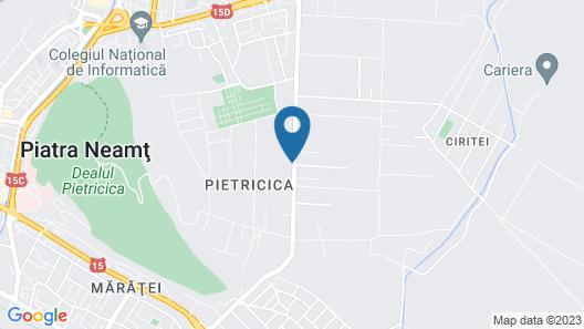 Aris Meridian Hostel Map