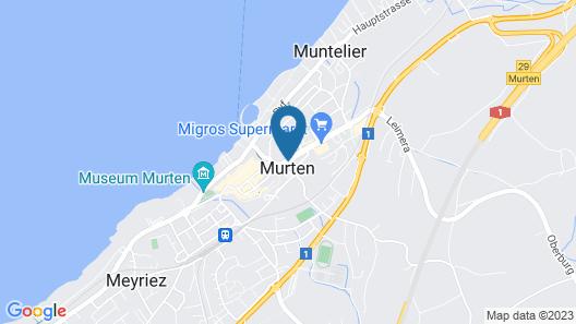 Hotel Murten Map