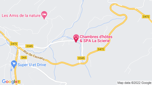 Maison d'hôtes & Spa La Scierie Map